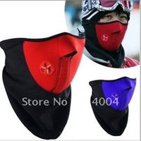 Wholesale 200pcs Promotion Sports warmer thermal Neck Face Mask Veil Guard Sport Bike Skiing Motorcycle bicycle Ski Snowboard skating