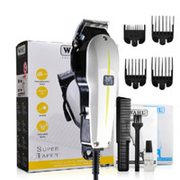 clippers - WAHL Super Taper Hair Trimmer EU AU UK US Plug Black Professional Hair Clipper Tool For Stylist DHL Free OTH148