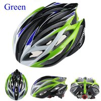 Wholesale Super Light g Road Bike Cycling Helmet Men s Bike Parts Yellow Green Blue Orange red silver Yellow Livestrong Bike Helmet cycling he