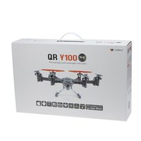 aircraft rc helicopter - Walkera QR Y100 FPV Wifi Aircraft UFO RC Quadcopter Drone helicopter with camera brushless motor VS dji phantom remote control