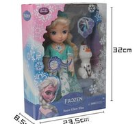 led picture light - in stock FROZEN Fever ELSA SNOW GLOW DOLL PRINCESS ACTUAL PICTURE MUSICAL SINGING TALKING LET IT GO with LED light