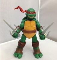 Wholesale Teenage Mutant Ninja Turtles Superhero Figures Action Figure Action Figures next mutation movie action figures Gifts for Christmas toys B113