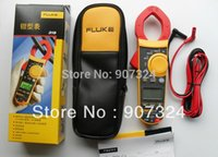 Cheap Free Shipping Fluke F319 True-rms AC DC Clamp Meter with CASE Inrush Current Frequency