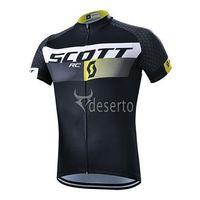 Wholesale 2015 SCOTT black Cycling Jersey short sleeve bib pants pants Quick Dry Breathable Cycling Clothing GEL PAD size XS XL