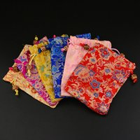 bags display - Chinese Traditional Style Jewelry bags silk bags Display package Gift x14cm