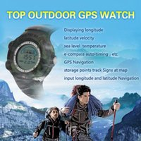 Wholesale Hot outdoor sports GPS watch waterproof shockproof automatically when the temperature elevation GPS navigation full version