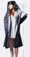 Wholesale Hot Split raincoat fashion dry super waterproof women s long design with a hood poncho Factory price