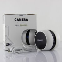 Wholesale Mini Googo Wireless CCTV Camera WiFi Video Camera Baby Monitor for iPhone Samsung iPad Tablets Smart Phone in retail pack