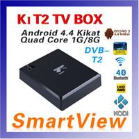 H.264 / MPEG-2/4 Set Top Box 1080P K1 Full HD DVB-T2 Цифровой эфирный Спутниковое ТВ приемника Совместимость с DVB-T для телевизоров HDTV