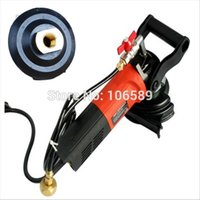 wet grinding - Electric Angle Grinder Wet Polisher Power Mini Angle Grinder Machine for Marble and Franite Stone up water feed