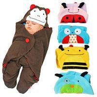 baby magic fleece - New Children s Magic Sleeping Bags Baby polar fleece Cart sleeping bag prevent kicking leg Sleeping Bags