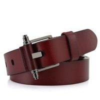 Wholesale 2014 Fashion New Designer Western Genuine Leather Belt Mens Belts Strips for Men DHLU146