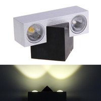 Wholesale W LED Wall Sconce Hall Porch Fixture Light Party Cafe Decking Lamp Bulb hv3n