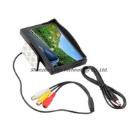 Wholesale 5 quot no Car TFT LCD Monitor Screen ch Video High quality
