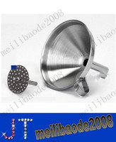 Wholesale 4 Inch Stainless Steel Funnel With Detachable Strainer Kitchen Tools Funnels MYY10520A
