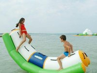 Wholesale Specialty Store Water seesaw toys size meter meter teeterboard gyro roller playing on the water summer