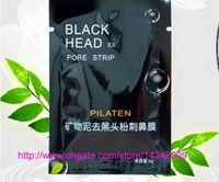Wholesale 100pcs PILATEN Tearing Style Deep Cleansing Purifying Peel off Blackhead Close Pores Face Mask Remove Cleaner Black Head Facial Mask Nose