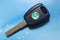 transponder key blank - 10pcs Fiat Transponder Key Shell With Logo Car Key Blank Case Cover