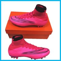 Wholesale Men s Elastico Superfly IC Indoor Soccer Shoes Boots Cleats Laser Men shoes Football Shoes