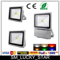 LED ac delivery - Quick Delivery Led Flood Light IP68 W W W W W W W W W Warm Cool White Outdoor Lighting Floodlights Warranty Years