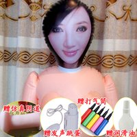 Cheap Cheap Sex Doll Life Size Anal Vaginal Love Doll Inflatable doll Realistic Vagina Moans Of The Women Blow Up Doll Inflatable Doll