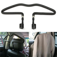 Wholesale Hot Sale New Arrival Rubber coated Car Seat Headrest Jacket Coat Suit Clothes Hanger Holder Black order lt no track