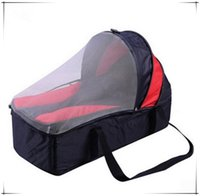 Wholesale 2015 Spring Winter Months Baby Crib Bed Portable Foldable Baby Crib With Netting Newborn Sleep Bassinet Travel Bed Colors