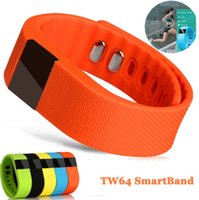 apple multi monitor - TW64 Smart Bracelet Fitness Smart Watch Silicone Smart Wristband Dual APP Healthy Tracker Pedometer Calories Sleep Monitor Multi Color Smart