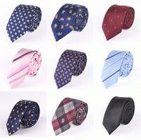 Wholesale 5cm narrow tie Korean style fashion skinny tie new unisex neck ties marriage tie