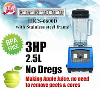 Wholesale New HP L Constant Speed Heavy Duty Commercial Blender Best Quality BPA Free With Stainless Steel Frame