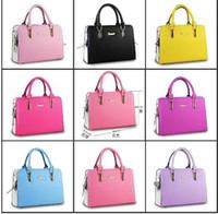 Wholesale Brand New Fashion Women s Handbag Clutch bag Purses PU Leather fashion Shoulder Bags Retro Handbag bag MYF49