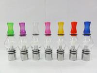 Revisiones Hierbas vaporizador globo-AAAAA Globo de vidrio Atomizador Seco Vaporizador de hierba coloful Clearomizer cera de tanque para el tanque de Ecigarette enormes vapor eGo serie de vidrio bombilla DHL libre
