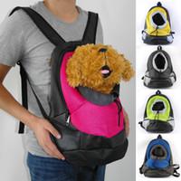 Wholesale Pet Double Single Carrier Dog Cat Puppy Travel Bag Totes Mesh Backpack Comfort Carrier Bag Pet Supplies