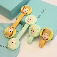Wholesale wholesales bulk pack pices frozen Anna and Elsa cartoon ear phone cable winder computer mobile store promotion gift