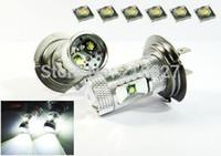 audi fox - 10pcs H7 W CREE LED High Power White Fog Lights for VOLKSWAGEN Polo v