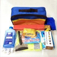 Wholesale Wisdomjoin auto emergency tool car emergency kit for emergency rescue vehicle insurance gift aid car