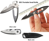 Wholesale Hand Tool Stainless Steel Portable Camping Folding Cutter Knife Outdoor Multifunction Pocket Cutting Knife Bottle Opener