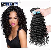 Deep Wave brazilian deep wave hair - Grade A virgin brazilian human hair deep curl for black woman fashion style deep wave virgin hair weaves peruvian malaysian