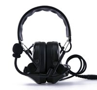 Wholesale IPSC Comtac Sordin Tactical Earmuff Noise Reduction Headset Hearing Protection Ear Protector Ear Muff