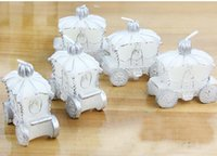 Wholesale 20pcs White Pumpkin Car Candle For Wedding Party Birthday Souvenirs Gifts Favor