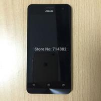 asus screen bezel - for Asus Zenfone A500CG A501CG LCD Display Panel Touch Screen Digitizer Glass Lens Sensor Assembly Frame Bezel Housing