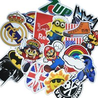 home decal stickers - 500pcs Mixed Funny Hit Stickers For Kids Home Decor Jdm On Laptop Sticker Decal Fridge Skateboard Doodle Stickers Toys S30311