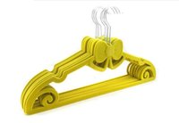 velvet hangers - 42cm Adults Velvet hanger Space Saving multi purpose hangers racks SH009
