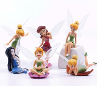 Wholesale artificial cute Fairy dolls Ornament fairy garden miniatures toys gnome moss terrarium decor resin crafts bonsai home decor for DIY Zakka