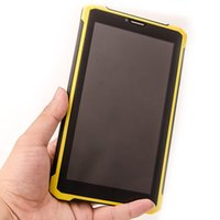Wholesale 7 quot inch IP68 Rugged Dual Core waterproof Tablet Pc GB RAM GB ROM WCDMA HD Screen Dual Camera Dual SIM Card phone