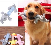 Wholesale Designs Dog Toys Pet Puppy Chew Squeaker Squeaky Plush Sound Toys