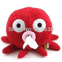 Wholesale Drop Shipping Lovely Octopus Design Tissue Tissue Boxes Paper Napkin Box Holder
