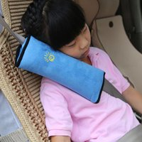 Wholesale Portable Universal Car Seat Pillow Baby Shoulder Safety Belts Children Strap Child Protection Support Cushion Supply Interiror