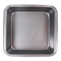 Wholesale 7inch Small Size Carbon Steel Square Grill Pan for BBQ Baking Cake Pizza Bread Loaf