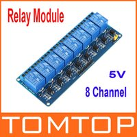 Wholesale New V Active Low Channel Relay Module Board for Arduino PIC AVR MCU DSP ARM Freeshipping